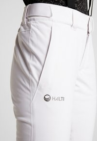 Halti - PUNTTI SKI PANTS - Skibroek - white - 5