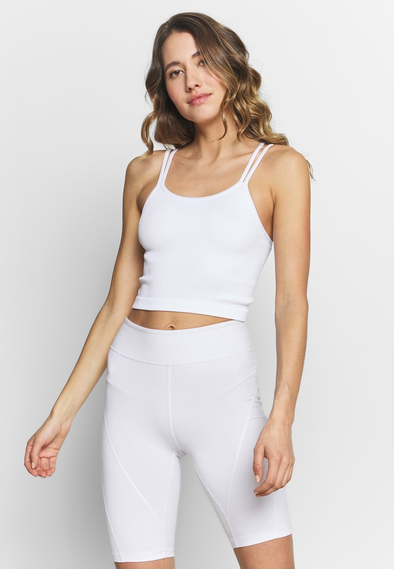 Cotton On Body - SEAMFREE STRAPPY VESTLETTE - Top - white