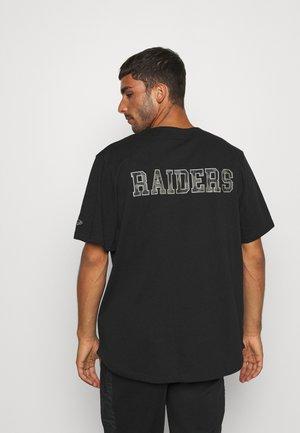 NFL LAS VEGAS RAIDERS GEOMETRIC CAMO BASEBALL - Klubbkläder - black