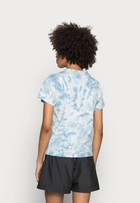 The North Face - NATURAL DYE TEE - T-shirt med print - tourmaline blue - 2