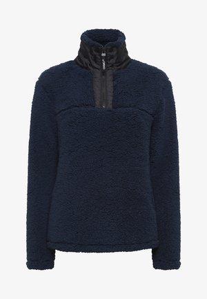ELINA - Fleece jumper - dark blue