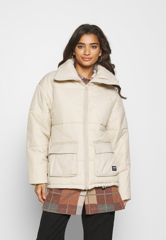 WHITNEY PUFFER JACKET - Winter jacket - cashew