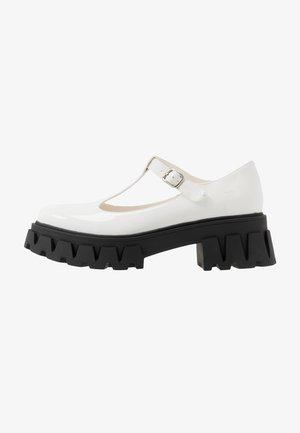 VEGAN SHIN - Platform heels - white