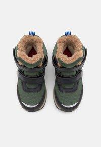 Finkid - LAPPI UNISEX - Zimní obuv - bronze green/graphit - 3