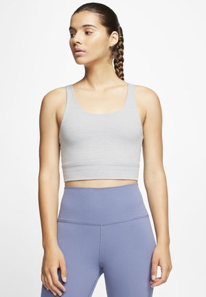 THE YOGA LUXE CROP TANK - Top - particle grey/heather/platinum tint