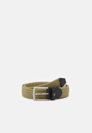 DENTON  - Braided belt - green