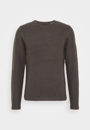ONSLOCCER CREW NECK - Maglione - grey