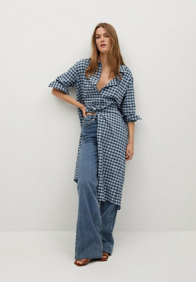 Shirt dress - zwart