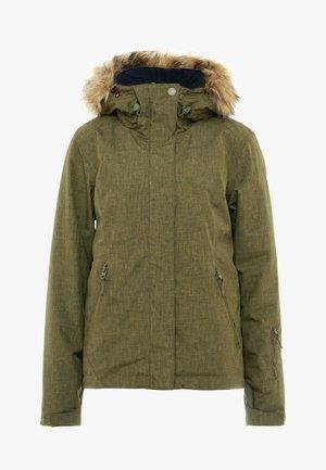 JET SKI SOLID - Snowboard jacket - ivy green