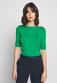 Lauren Ralph Lauren - Triko spotiskem - hedge green - 0
