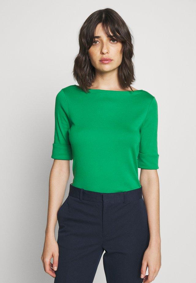 T-shirt print - hedge green