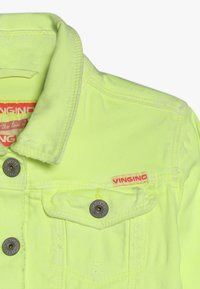 Vingino - TOSCANE - Denim jacket - neon yellow - 4