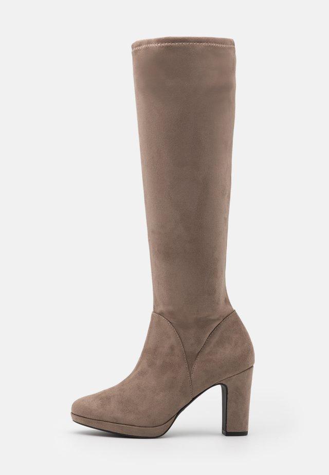 BOOTS - High heeled boots - pepper