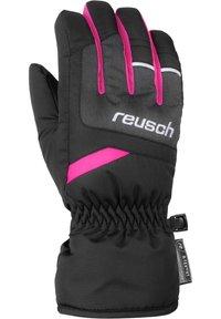 Reusch - BENNET - Gloves - blck/blck melang/pink glo - 1