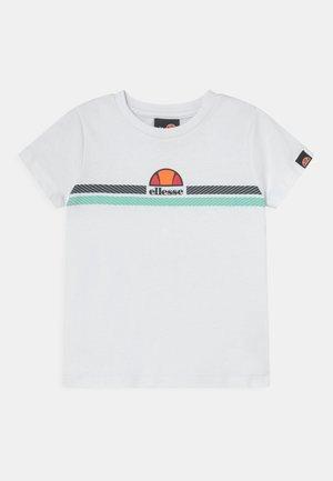 MANDOLA TEE - T-shirt con stampa - white