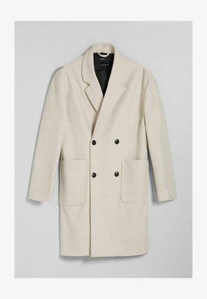 Halflange jas - off white