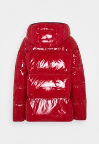 Tommy Hilfiger - HIGH GLOSS PUFFER - Down jacket - arizona red - 1