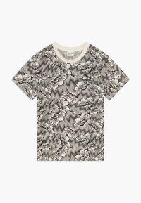 Puma - PUMA X ZALANDO TEE - T-shirt con stampa - silver birch - 0