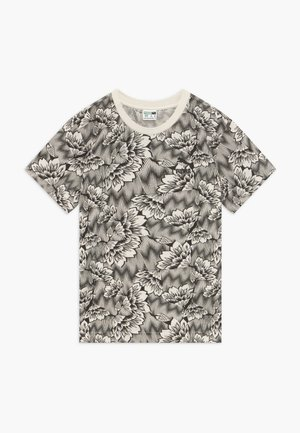 PUMA X ZALANDO TEE - Print T-shirt - silver birch