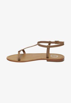 LAGORN TIMELESS - Sandals - camel