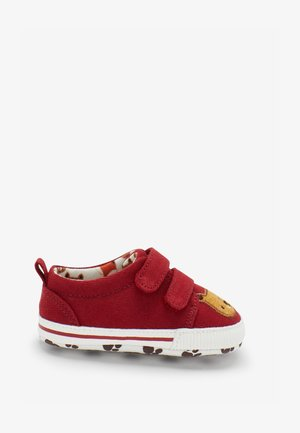 TWO STRAP PRAM - Touch-strap shoes - red