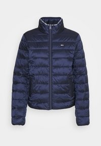 QUILTED ZIP THROUGH - Light jacket - twilight navy