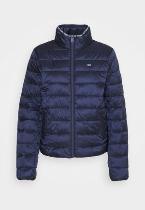 QUILTED ZIP THROUGH - Lett jakke - twilight navy