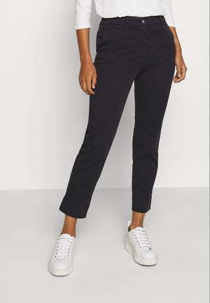 PANTS - Trousers - deep blue