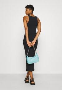 ONLY - ONLLINDSAY TANK TOP LONG DRESS - Denní šaty - black - 4