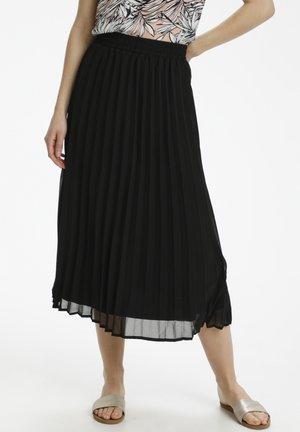 A-line skirt - black deep