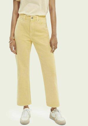 Straight leg jeans - sunshine yellow
