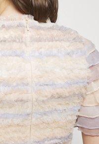 Needle & Thread - LUELLA RUFFLE MINI DRESS - Cocktail dress / Party dress - porcelain - 4