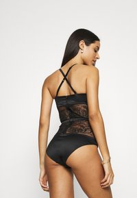 Calvin Klein Underwear - BLOOM FLORAL BODYSUIT - Body - black - 4