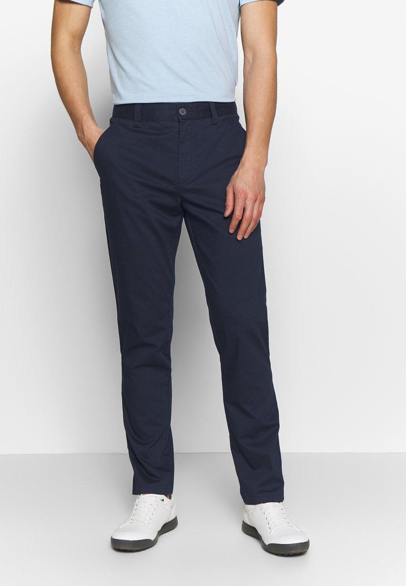 Calvin Klein Golf - RADICAL CHINO TROUSER - Chino kalhoty - dark navy