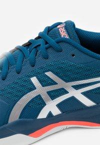 ASICS - GEL-GAME 7 - Multicourt tennis shoes - mako blue/pure silver - 5