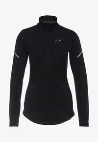 Gore Wear - THERMO ZIP  - Funkční triko - black - 4