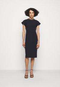Victoria Beckham - Shift dress - navy - 0