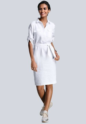 Shirt dress - weiß