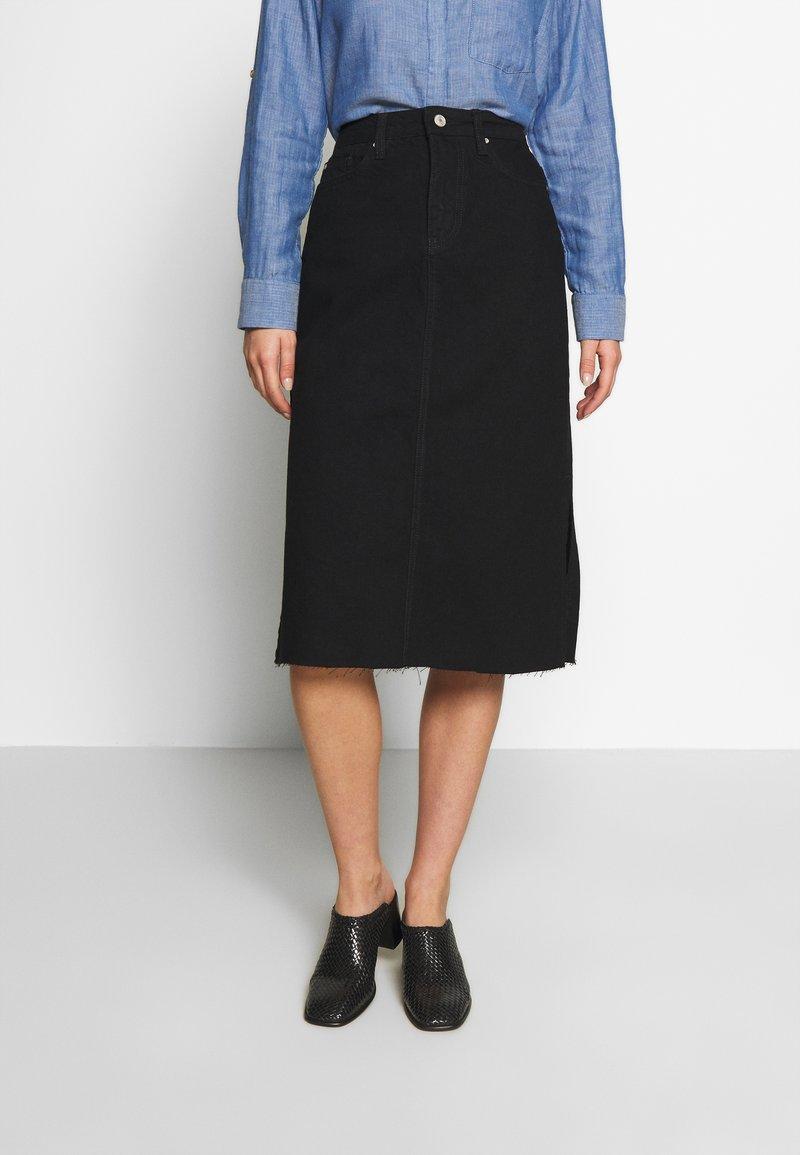 Trendyol - Pouzdrová sukně - black