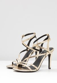 ONLY SHOES - ONLAILA CROSS  - High heeled sandals - gold - 3