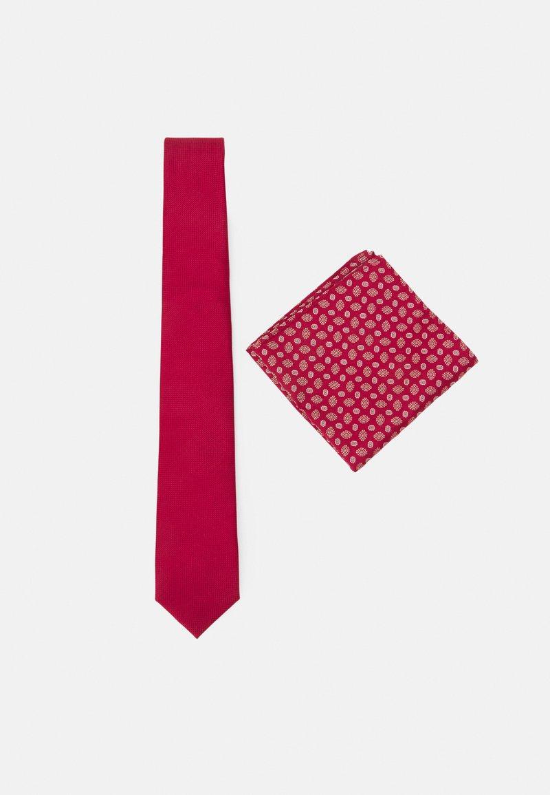 Pier One - SET - Cravatta - bordeaux
