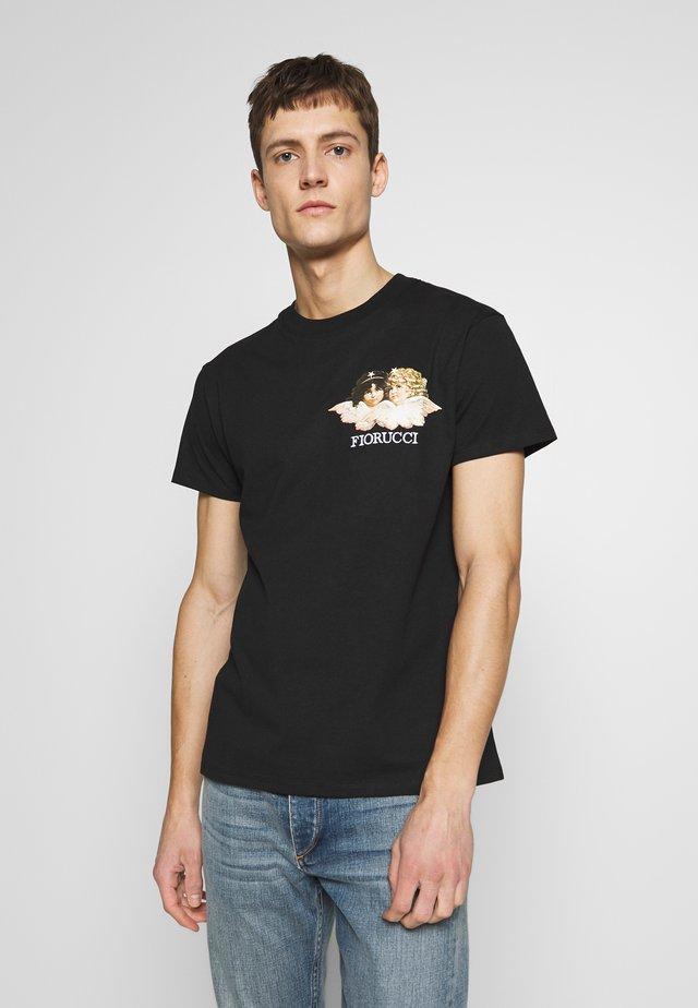 NEW ANGELS TEE - Print T-shirt - black