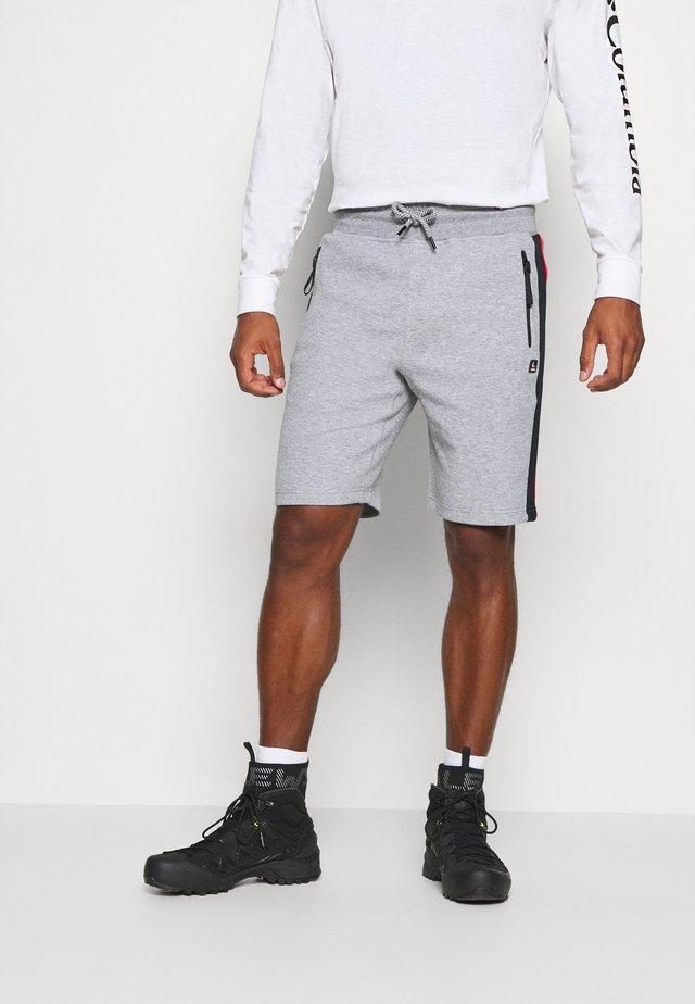 LUHTA KIRJAVALA - Pantaloncini sportivi - light grey