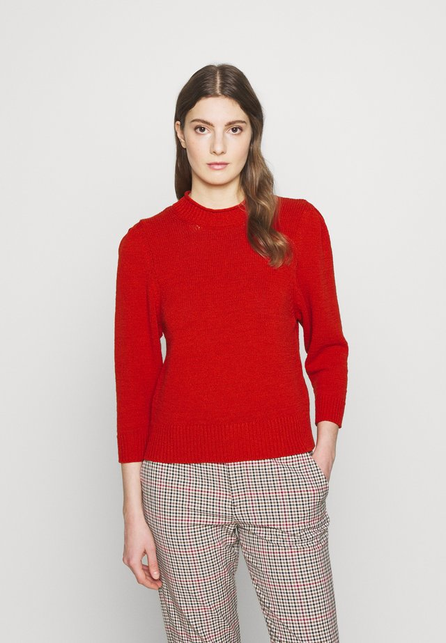 NORE - Pullover - metallic red