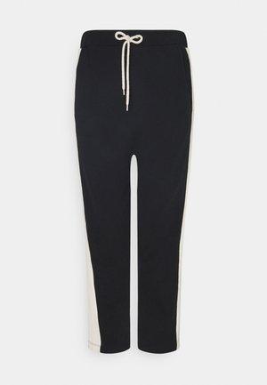 PANTS SMOKING - Kalhoty - black