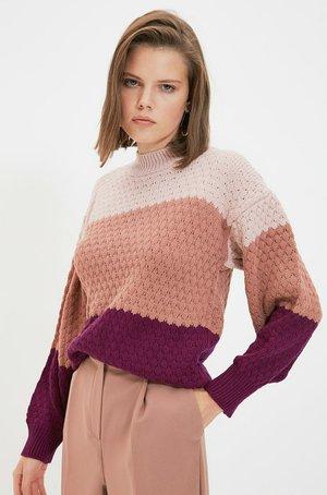 Pullover - pink/light pink/purple