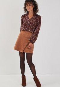 Cache Cache - ASYMMETRISCHER  - A-line skirt - marron clair - 1