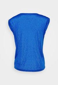 GAP - TISSUE ROLL SLEEVE TANK - T-shirts - admiral blue - 6