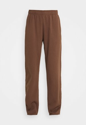 NEUTRALS JOGGER IN RELAXED FIT - Teplákové kalhoty - brown