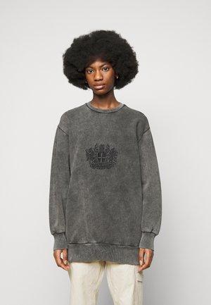 RELAXED CREW - Sweatshirt - faded dark grey
